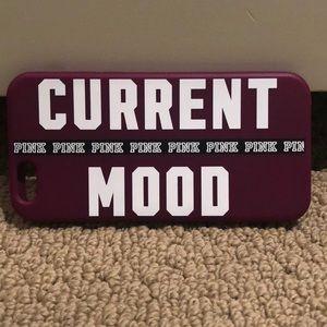 Victoria Secret PINK current mood iPhone 6s case